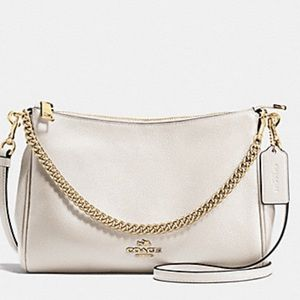 Coach Carrie Crossbody In pebbled leather